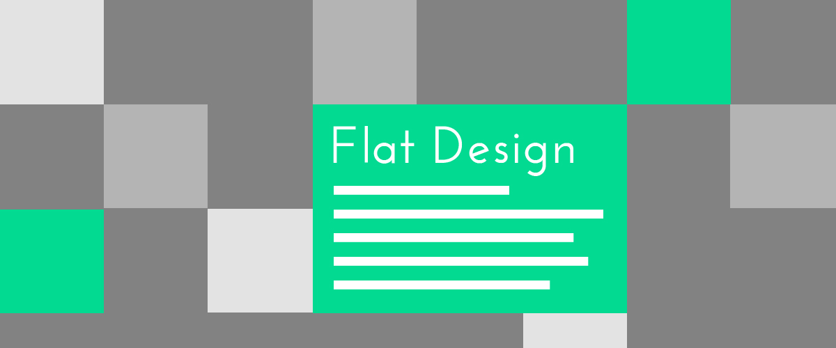 Flat Design - Trends in Web Design