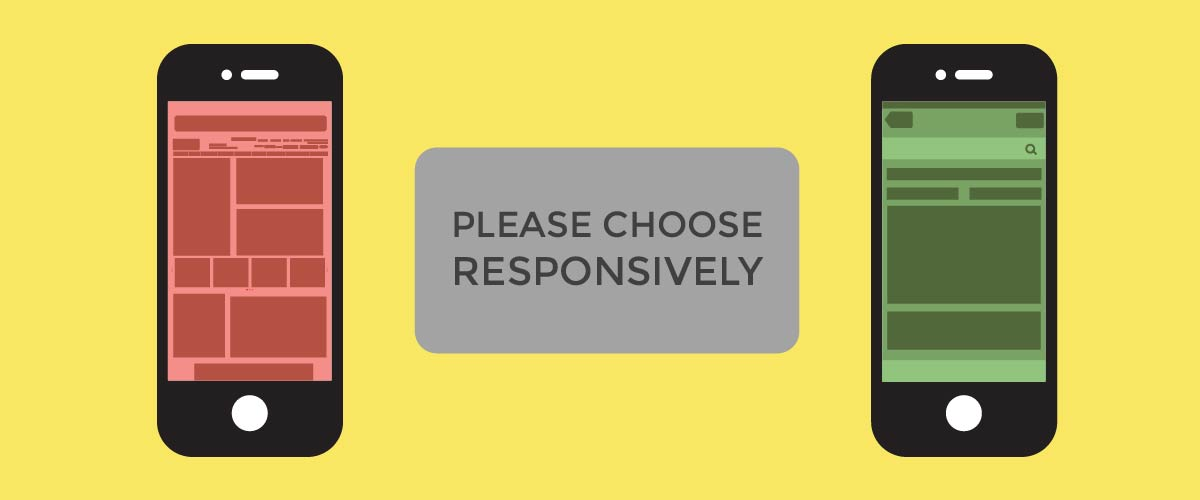 Please Choose Responsively