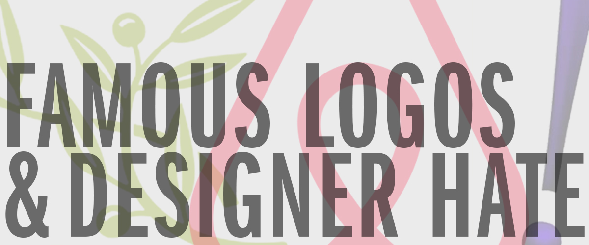 famous logos and designer hate