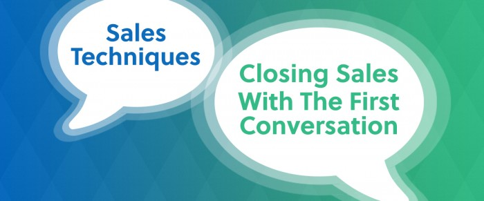 Sales: Mastering The First Conversation