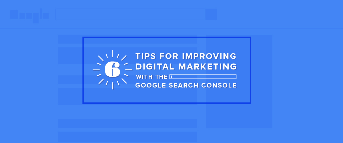 Search Console or Marketing