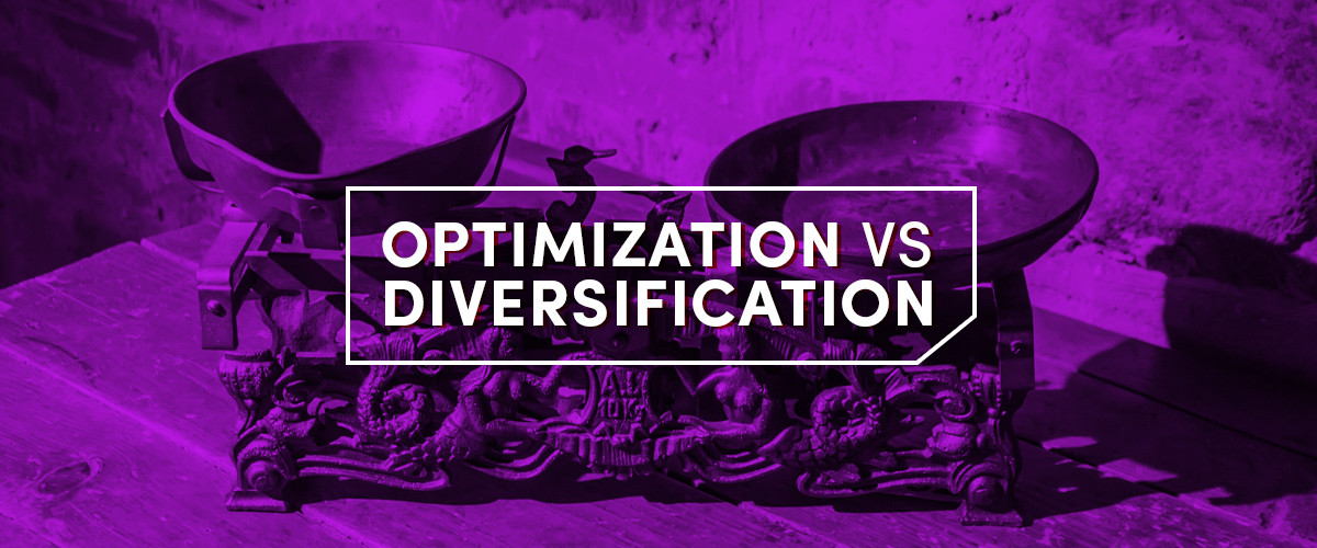Optimization Vs Diversification