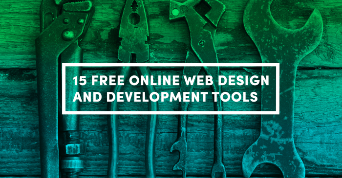 15 Free Online Web Tools