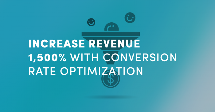 Increase Revenue 1,500% with Conversion Rate Optimization