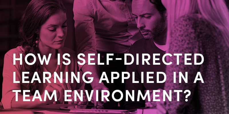 How Is Self-directed Learning Applied In A Team Environment?