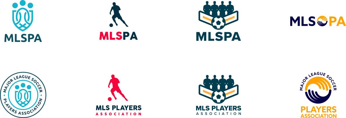MLSPA Branding Design A Variations