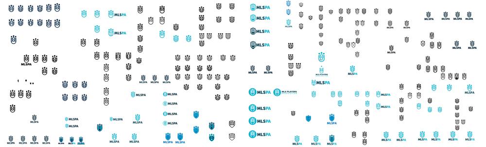 MLSPA Logo Variations